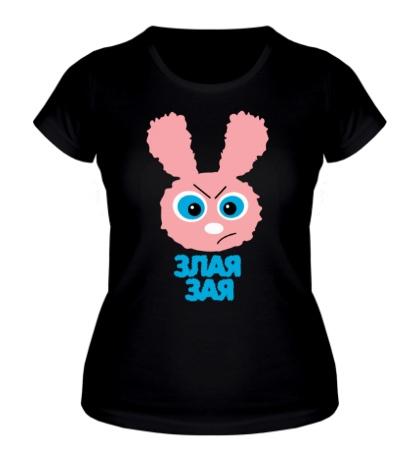 Женская футболка Злая зая