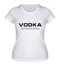 Женская футболка Vodka