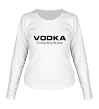 Женский лонгслив Vodka