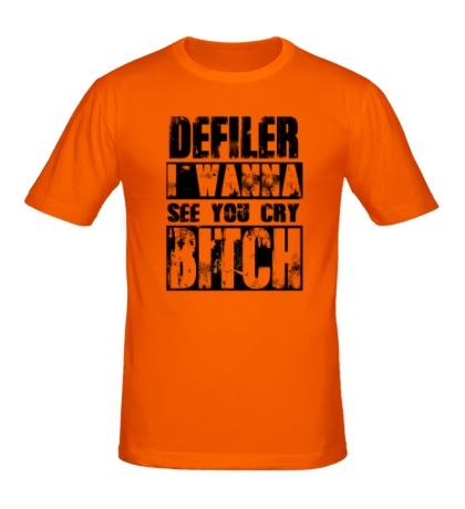 Мужская футболка Defiler