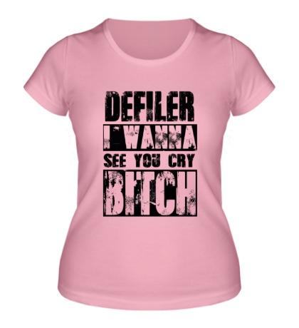 Женская футболка Defiler