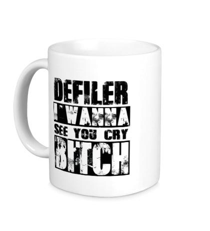 Керамическая кружка Defiler