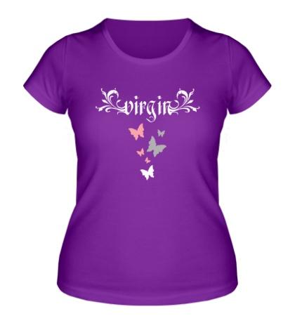 Женская футболка Virgin
