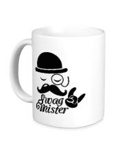 Керамическая кружка Swag mister