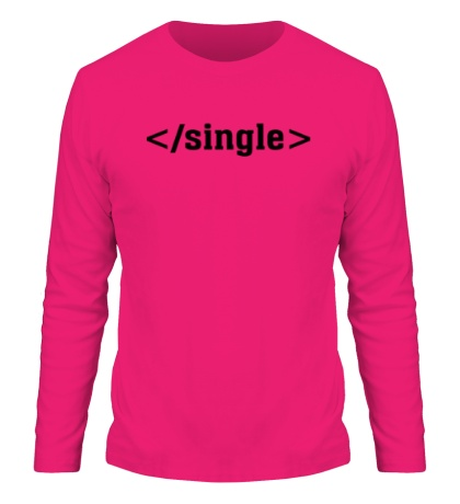 Мужской лонгслив Single Tag
