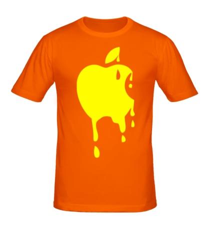 Мужская футболка Кислотное яблоко