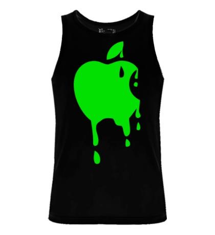 Мужская майка Кислотное яблоко