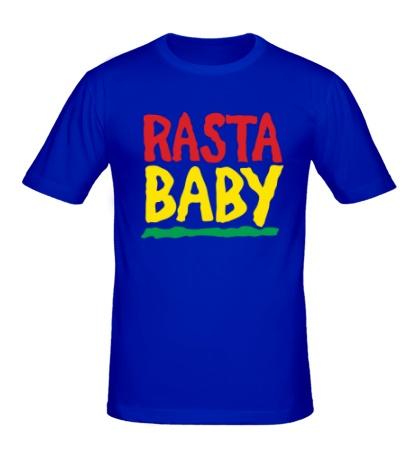 Мужская футболка Rasta baby