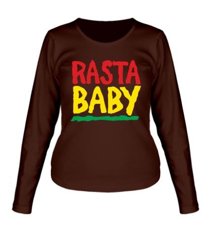 Женский лонгслив Rasta baby