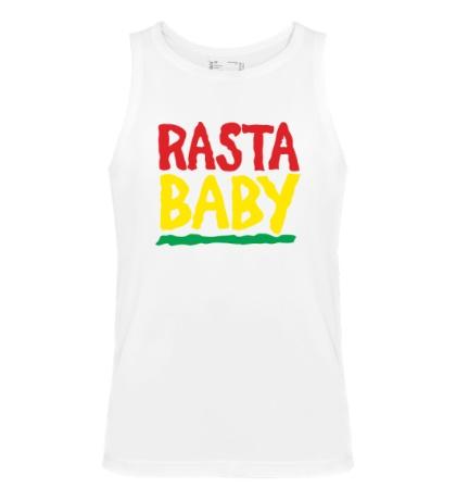 Мужская майка Rasta baby