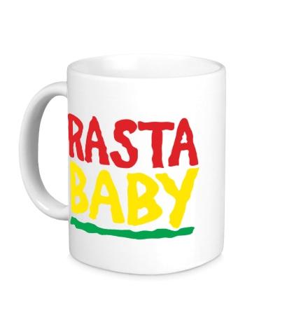 Керамическая кружка Rasta baby