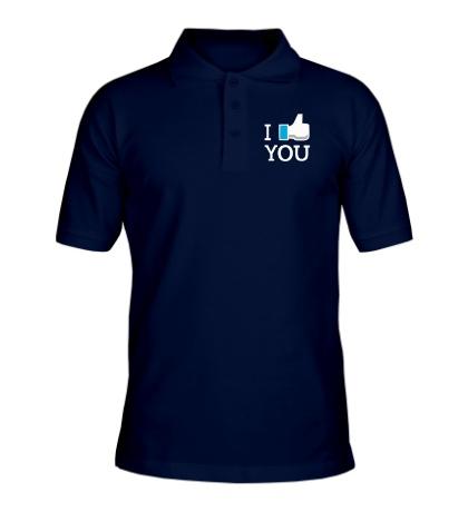Рубашка поло I like you