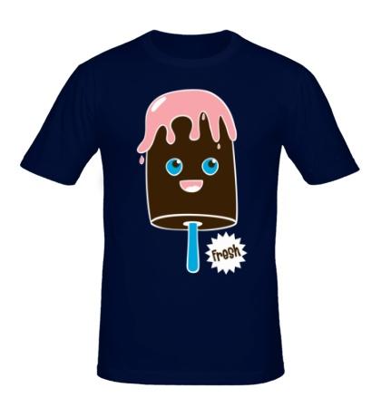 Мужская футболка Fresh ice cream