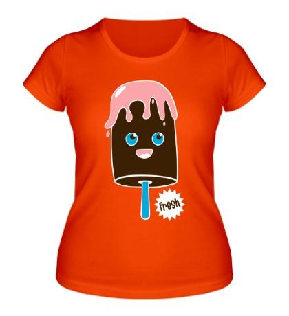 Женская футболка Fresh ice cream