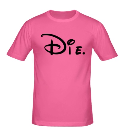 Мужская футболка Disney Die