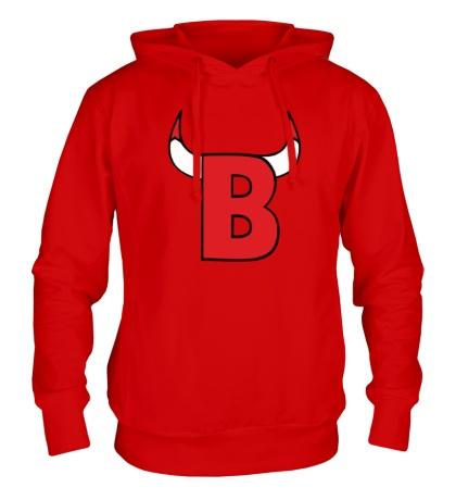Толстовка с капюшоном B-Bulls