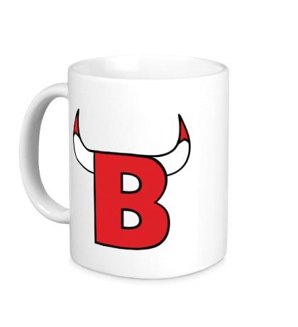 Керамическая кружка B-Bulls
