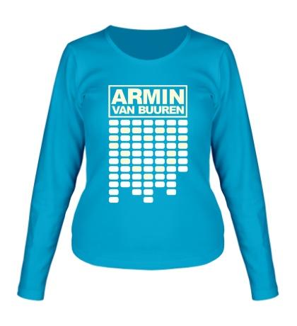 Женский лонгслив Armin Equalizer Glow