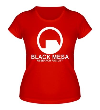 Женская футболка Black Mesa