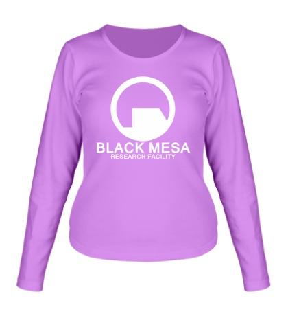 Женский лонгслив Black Mesa