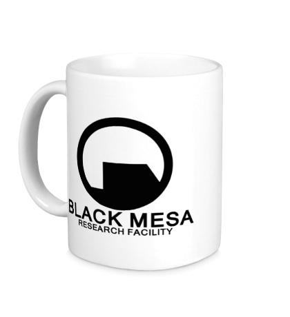 Керамическая кружка Black Mesa