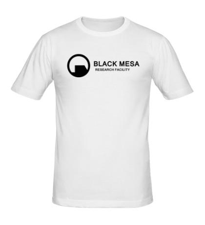 Мужская футболка Half-Life: Black Mesa