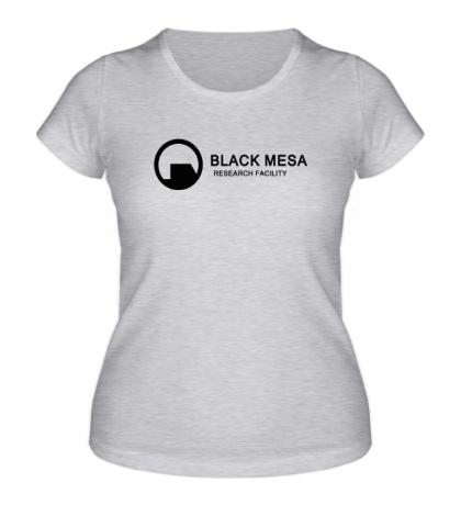 Женская футболка Half-Life: Black Mesa