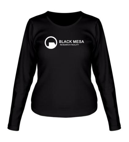 Женский лонгслив Half-Life: Black Mesa
