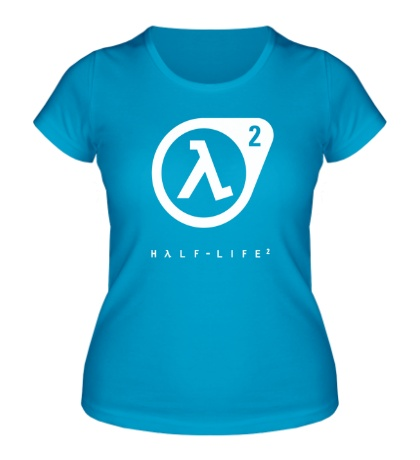 Женская футболка Half-Life 2