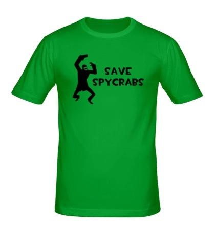 Мужская футболка Save Spycrabs