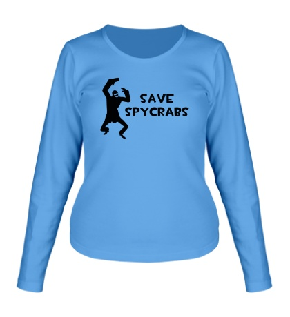 Женский лонгслив Save Spycrabs