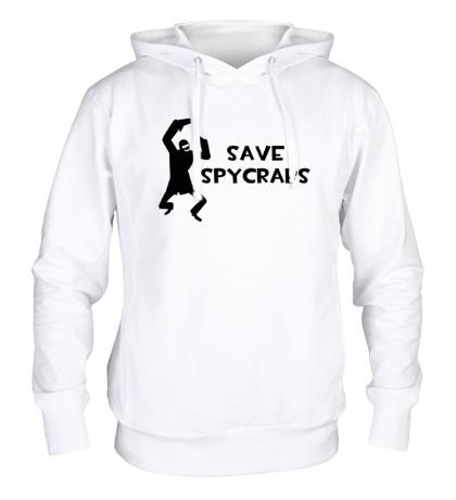 Толстовка с капюшоном Save Spycrabs