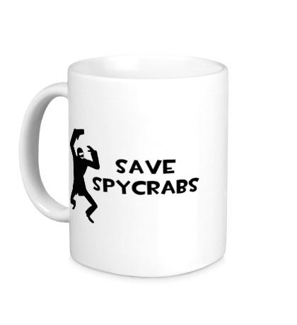 Керамическая кружка Save Spycrabs
