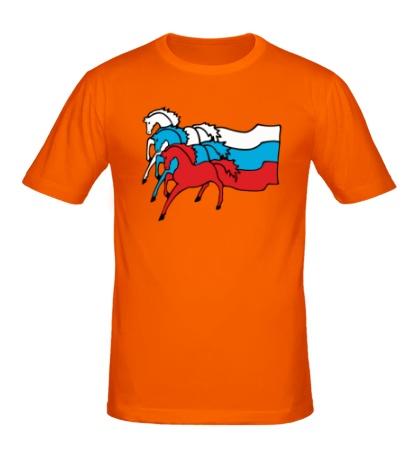 Мужская футболка Сильная Россия