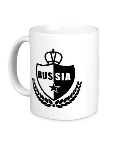 Керамическая кружка Russia Fans
