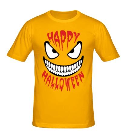 Мужская футболка Happy halloween