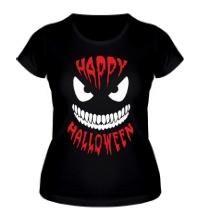 Женская футболка Happy halloween