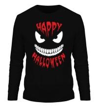 Мужской лонгслив Happy halloween
