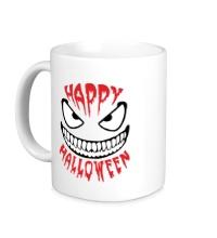 Керамическая кружка Happy halloween