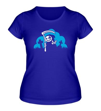 Женская футболка Веселая смерть