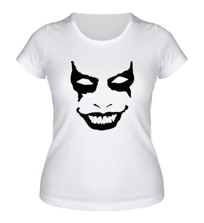 Женская футболка Зловещее лицо