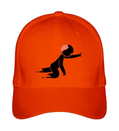 Бейсболка Ползучий зомби человечек