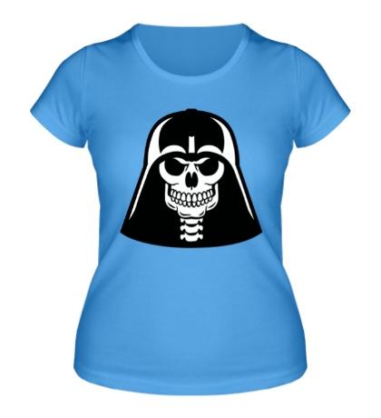 Женская футболка Череп Дарта Вейдера