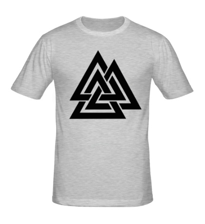 Мужская футболка Валькнут: Трикветра