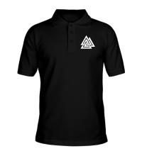 Рубашка поло Валькнут: Трикветра