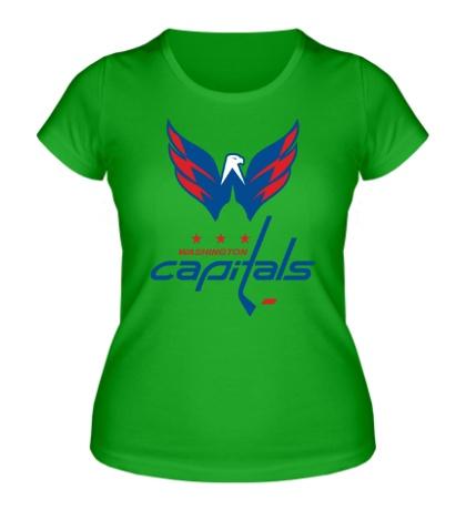 Женская футболка HC Washington Capitals Art