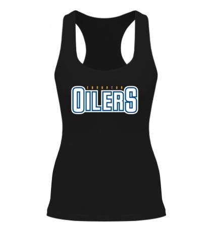Женская борцовка HC Edmonton Oilers Sign