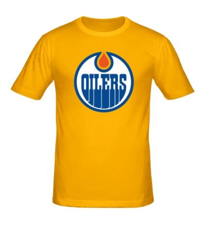 Мужская футболка HC Edmonton Oilers