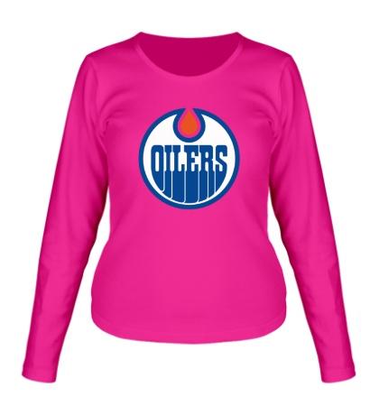 Женский лонгслив HC Edmonton Oilers