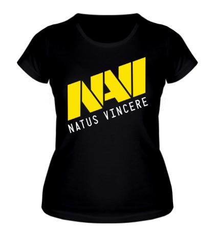 Женская футболка «NAVI Natus Vincere Team»